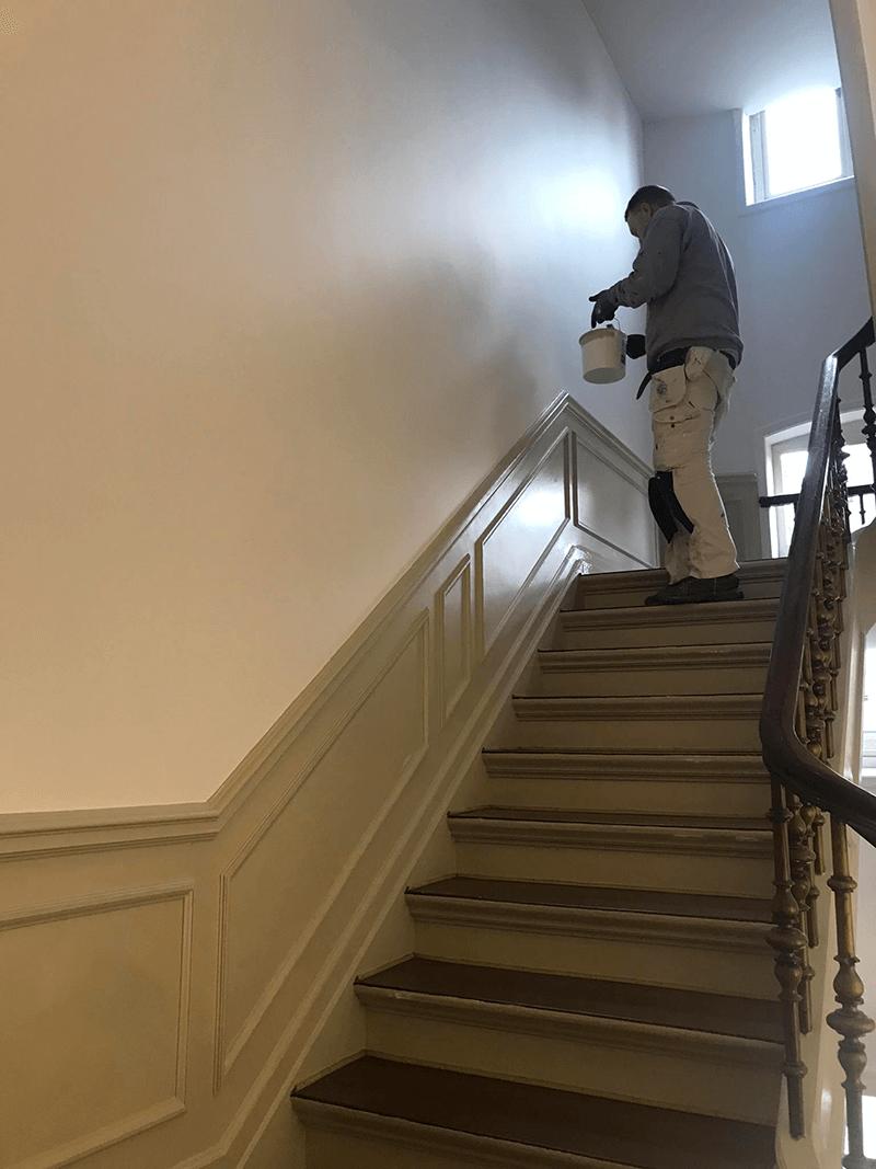trappe-undervej